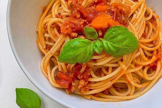 My Vegan Spaghetti Bolognese Recipe