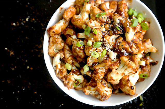 General Tso's Cauliflower Wings
