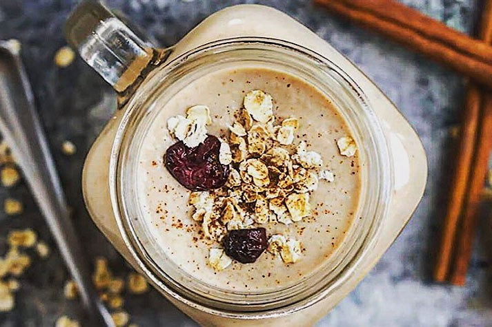 How to Use Oats in Smoothies to Create Fiber-Packed Drink
